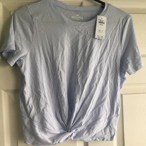 Hollister tie-front T-shirt